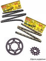Chain D.I.D.520 VX2 PRO-STREET X-Ring [112 chain link] and SUNSTAR sprocket for Honda NC 750 S/ X [16']