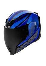 Full face helmet Icon Airflite Bue