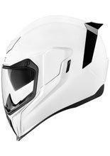 Full face helmet Icon Airflite Gloss white
