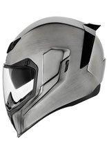 Full face helmet Icon Airflite QuickSilver silver