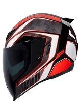 Full face helmet Icon Airflite Raceflite red