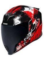 Full face helmet Icon Airflite Stim Red
