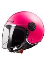 Open face helmet LS2 OF558 Sphere Lux Solid fluo pink