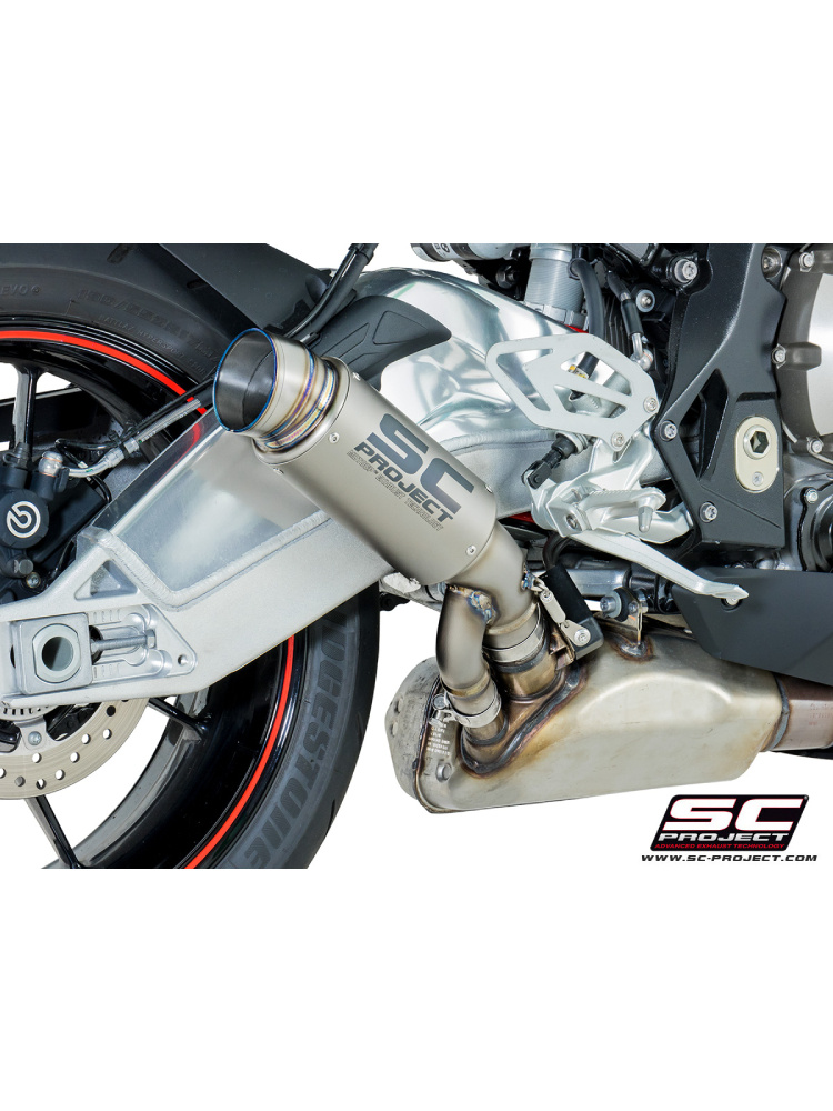 gp70 r slip on silencer sc project for bmw s 1000 rr 17 moto online store. Black Bedroom Furniture Sets. Home Design Ideas