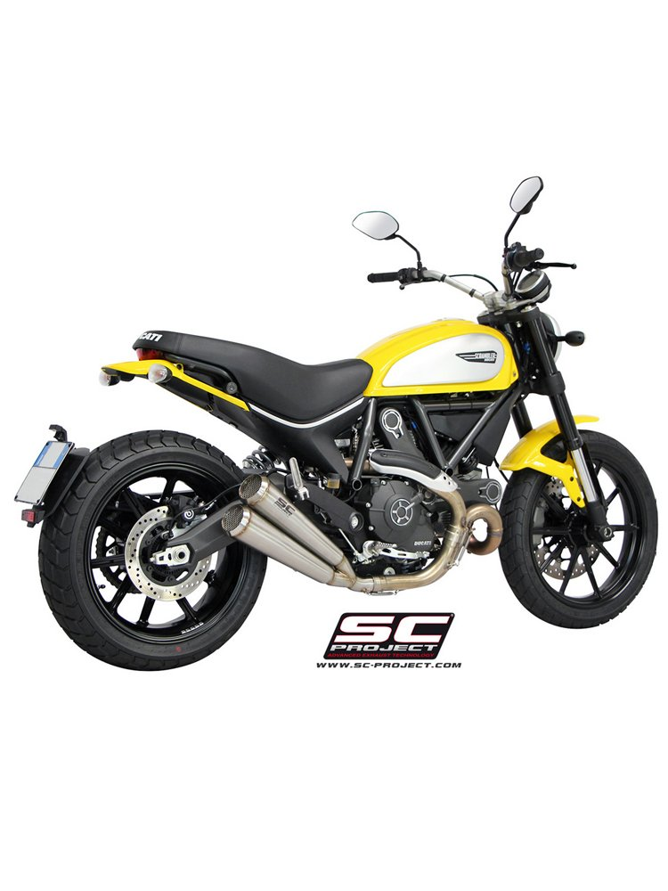 twin conic 39 70s silencers slip on sc project for ducati. Black Bedroom Furniture Sets. Home Design Ideas