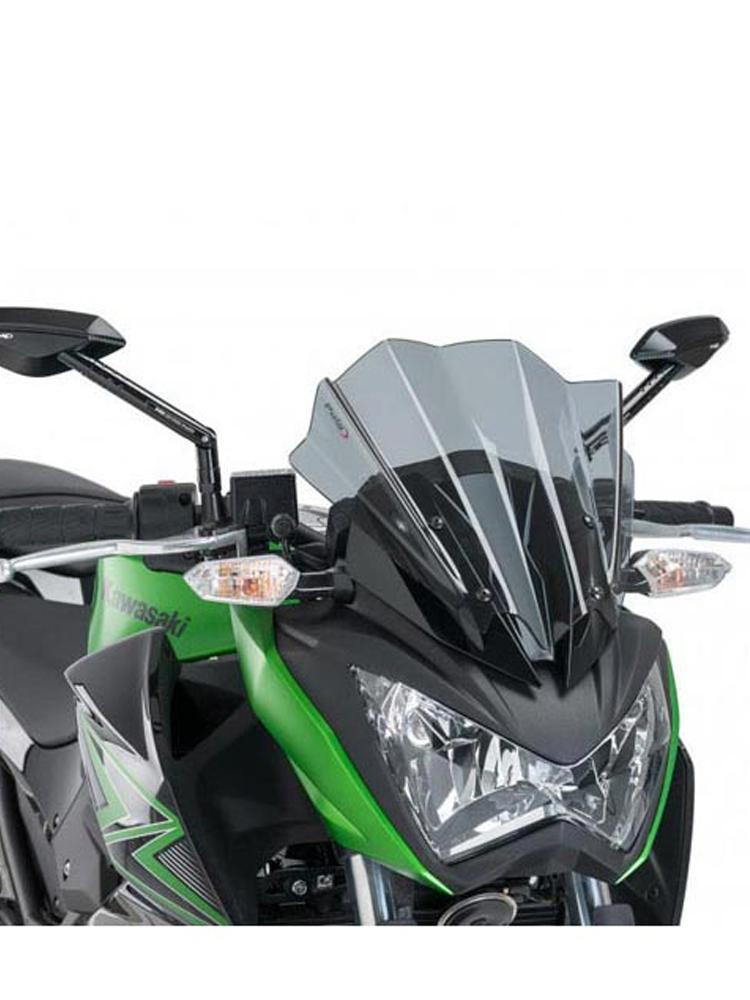 Windshield Naked New Generation Puig For Kawasaki Z300 Moto Tourcom