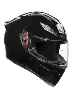 Full-face helmet AGV K1 black glossy