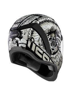 Full face helmet Icon Airform Sacrosanct White