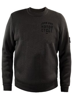 Knit Pullover JOHN DOE Roundneck Small Logo