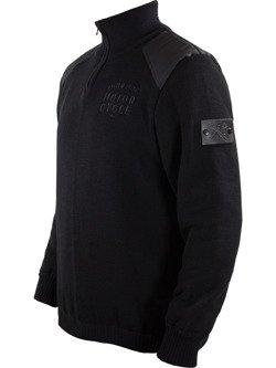 Knit Pullover JOHN DOE Zip Small Logo