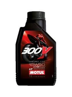 Motul 300V 4T Factory Line / Double Ester SAE 15W50 1L