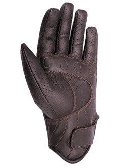 Short gloves Seca Tabu Perforated brown