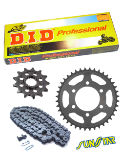 YAMAHA YZ 426F [00-02]/ 450F [03-04] DID520 NZ SUPER NON-O-RING and SUNSTAR sprockets