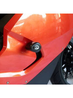 CRASH PADY AERO R&G FOR BMW K1300S [09-16] BLACK