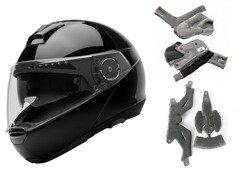 Flip-up helmet Schuberth C4 Glossy Black SALE