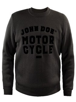 Knit Pullover JOHN DOE Roundneck Big Logo