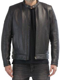 Leather Jacket JOHN DOE Roadster with aramid fiber
