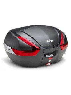 Top-case Monokey Givi V47 (black/red, 47 ltr)