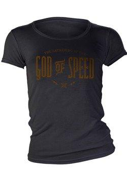 Women's T-Shirt John Doe God of Speed black
