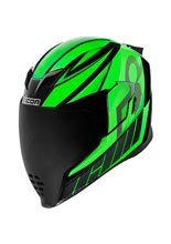 Kask integralny Icon Airflite Green