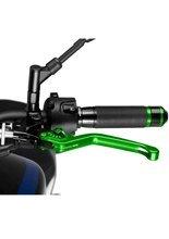 Sportowa dźwignia sprzęgła PUIG z sześciostopniową regulacją (zielona)
