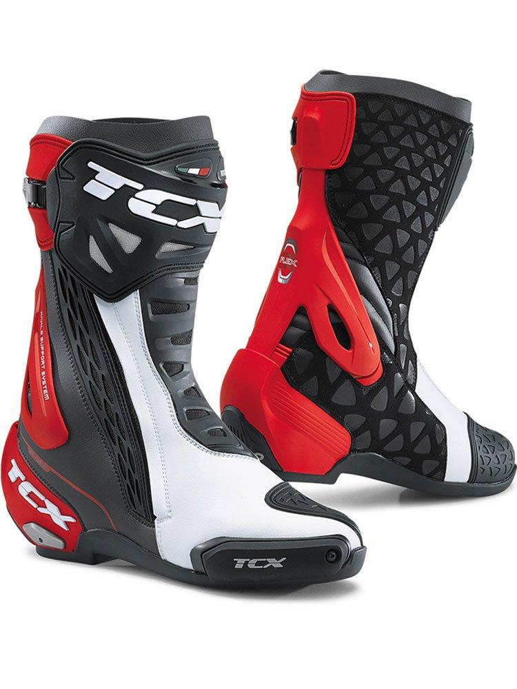 Buty Motocyklowe Sportowe Tcx Rt Race Czerwone Sklep Moto Tour Com Pl