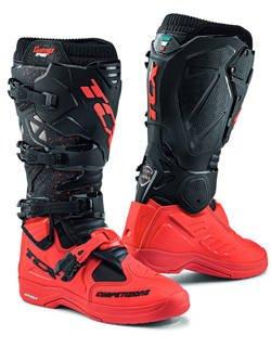 Buty enduro TCX Comp Evo 2 Michelin czerwono-czarne