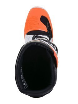 Buty off-road dziecięce Alpinestars Tech 7S biało-granatowo-pomarańczowe fluo