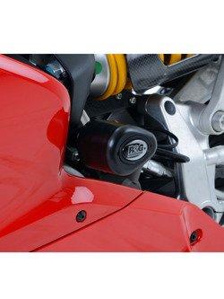 CRASH PADY AERO R&G DO Ducati 1199 Panigale / 899 Panigale / 1299 Panigale / 959 Panigale CZARNY
