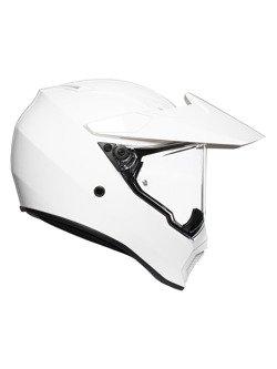 Kask off-road AGV AX9 biały
