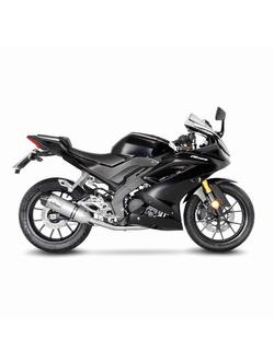 Kompletny układ wydechowy LeoVince Full Ex. 1/1 LV One EVO Stainless Steel do Yamaha YZF-R 125 (19-20), MT-125 (20) z homologacją