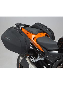 Kufry boczne ABS ® Aero System Sw-Motech Honda CBR 500 R, CB 500 F.