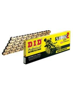 Łańcuch napędowy D.I.D.520 DZ2 wzmocniony bezoringowy [118 ogniw]