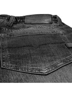 Męskie jeansy motocyklowe JOHN DOE Original [black used]