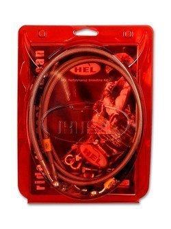 Przewody hamulcowe HEL w oplocie stalowym układ ABS do Kawasaki z1000 (2012-2017) [PRZÓD i TYŁ]