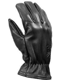 Rękawice motocyklowe skórzane John Doe Freewheeler - XTM czarne
