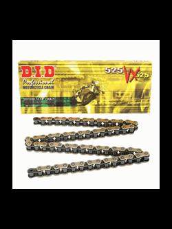 SUZUKI GSX-R 600 [11-15] zestaw napędowy DID525 VX ZŁOTY PRO - STREET (X-ring super - wzmocniony, złoty) zębatki SUNSTAR