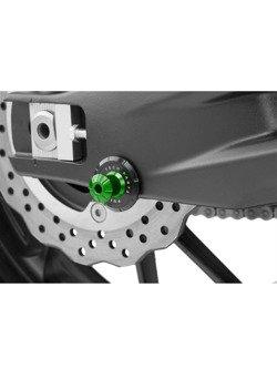 Slidery wahacza PUIG do motocykli Aprilia / Yamaha / Ducati 899/959 Panigale/Monster 821/Triumph (M6 - zielony PRO)