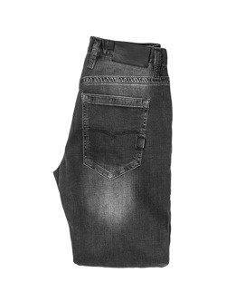 Spodnie motocyklowe jeansowe John Doe Original czarne