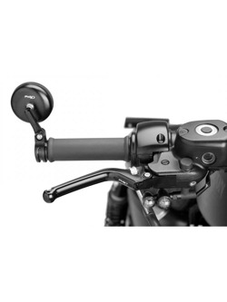 Sportowa dźwignia hamulca PUIG z sześciostopniową regulacją Heritage (czarna)