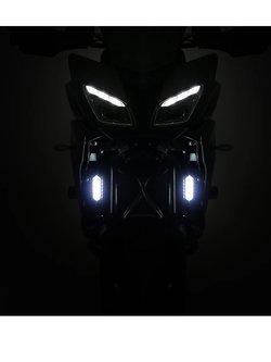 Światła do jazdy dziennej DENALI z uniwersalnym zestawem do montażu od R&G (światło zimne)