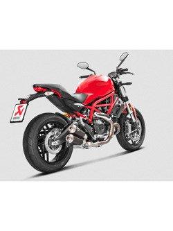 Tłumik Slip-On Line (TITANIUM) Akrapović Ducati Monster 797 [17-18] / Scrambler Cafe Racer [17-18] / Scrambler Icon/Urban Enduro/Classic/Full Throttle [15-18]