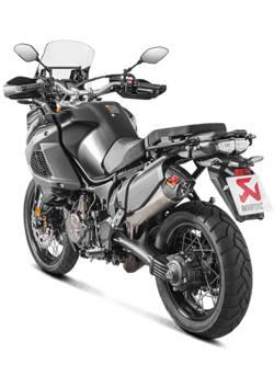 Tłumik Slip-On Line (TITANIUM) Akrapović Yamaha XT1200Z/E Super Tenere [10-18]