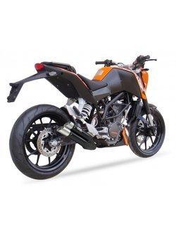 Tłumik motocyklowy IXIL DUAL HYPERLOW XL BLACK L3XB (SLIP ON) KTM Duke 125/ 200 [11-16]