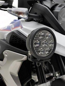 Zestaw lamp LED DENALI 2.0 D7 z technologią DataDim + bursztynowe soczewki (2 sztuki)