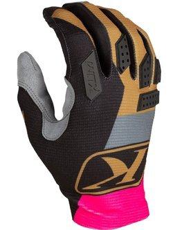 Rękawice motocyklowe Klim XC Lite różowe