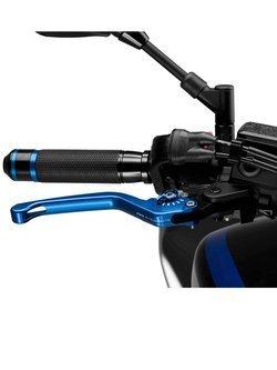 Sportowa dźwignia hamulca PUIG z sześciostopniową regulacją (niebieska)