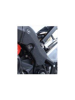 TANKPAD ANTYPOŚLIZGOWY ZABEZPIECZAJĄCY RAMĘ 2 CZĘŚCI R&G BMW S1000R (15-16) CZARNY