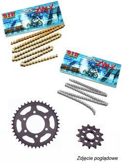 Zestaw napędowy: łańcuch D.I.D. 525 ZVM-X SUPER STREET X-Ring [128 ogniw] oraz zębatki SUNSTAR do BMW S 1000 XR [15-17]